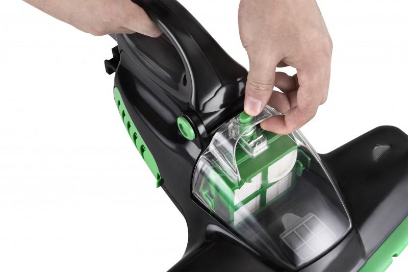 Milbenstaubsauger Milben Handstaubsauger Matratzen UV-Sauger (Karton beschädigt)*63445 Bild 4