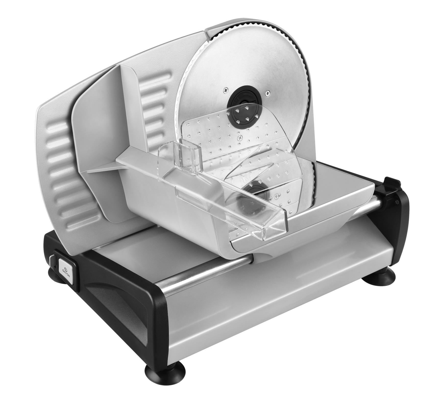 Metall Allesschneider Brotschneidemaschine Edelstahlmesser 19cm Silber*57918 002