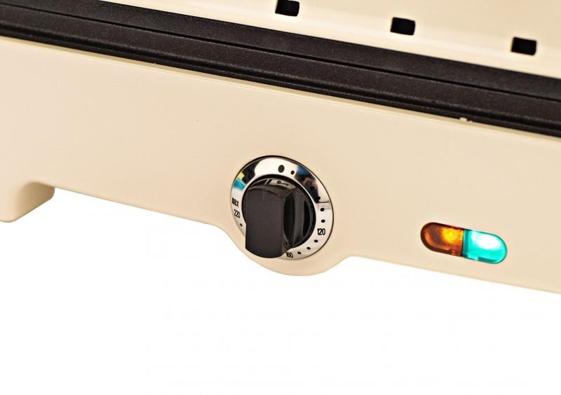 Multikocher 3in1 Mini-Ofen Partypfanne Kontaktgrill(Karton beschädigt*61038 Bild 8