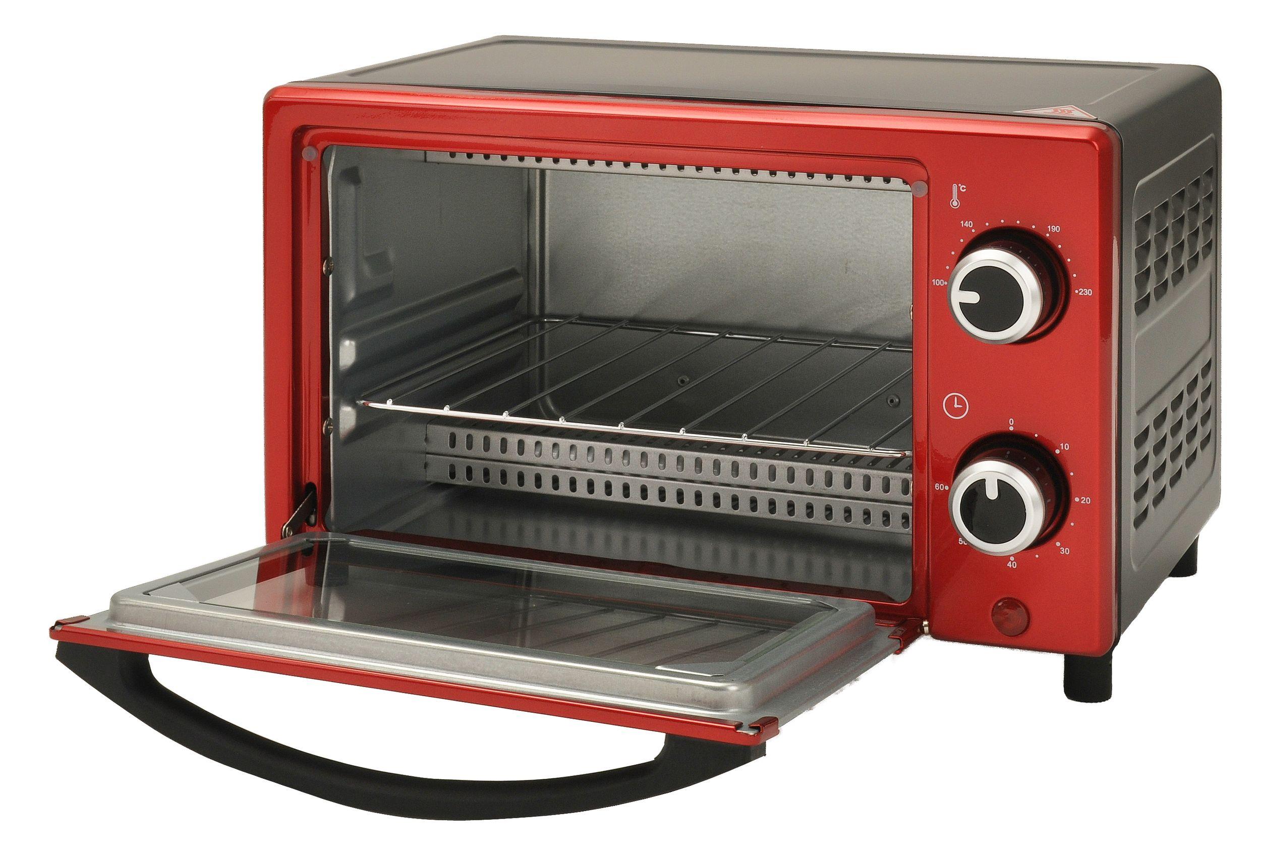 Multiofen 9L Mini-Ofen 60min Timer 230°C Backblech Grillrost 900W NEU*43529 Bild 2