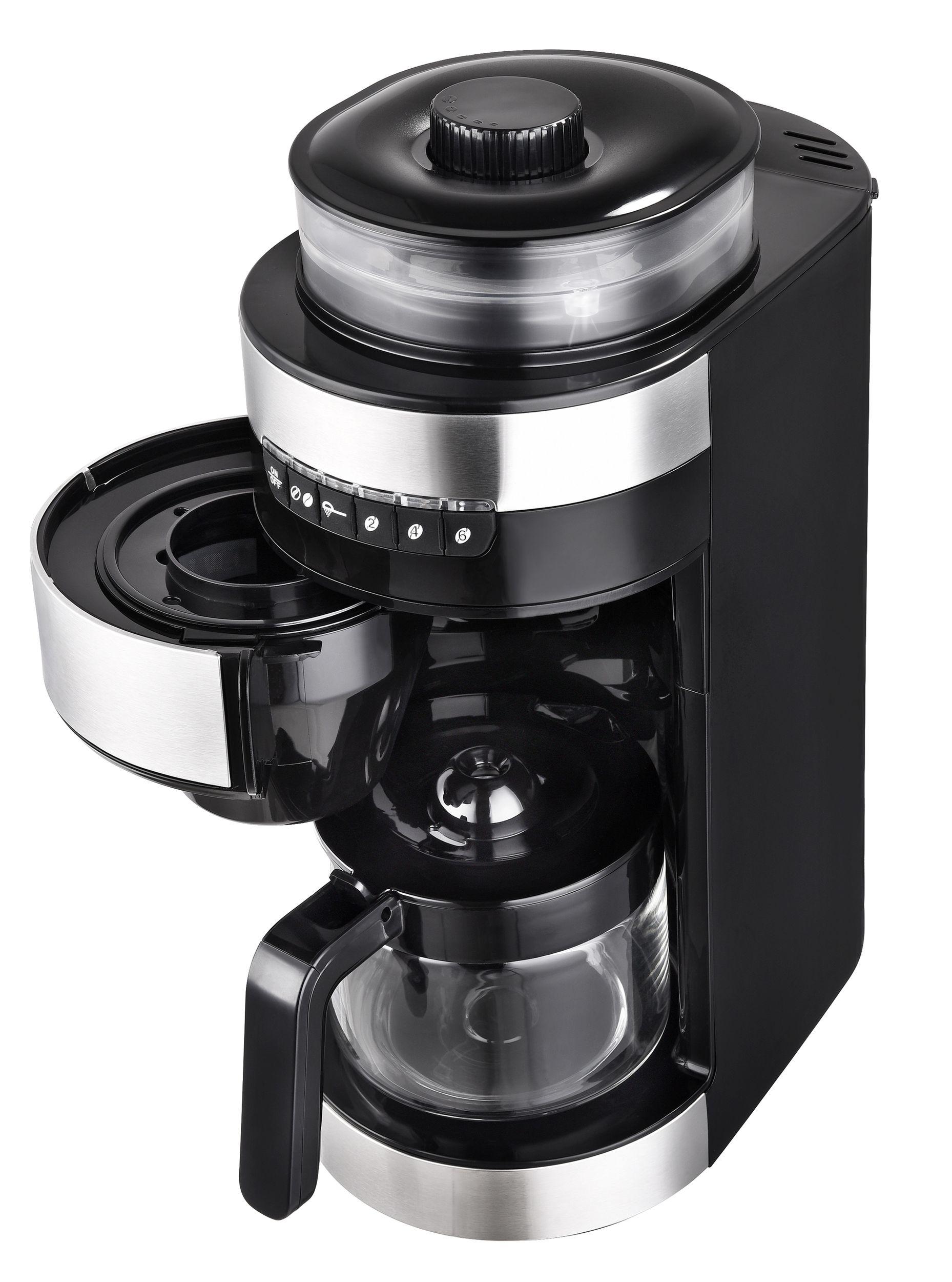 2in1 Kaffeeautomat Mahlwerk Bohnen Mühle 0,85L (Karton beschädigt)*81319 Bild 2