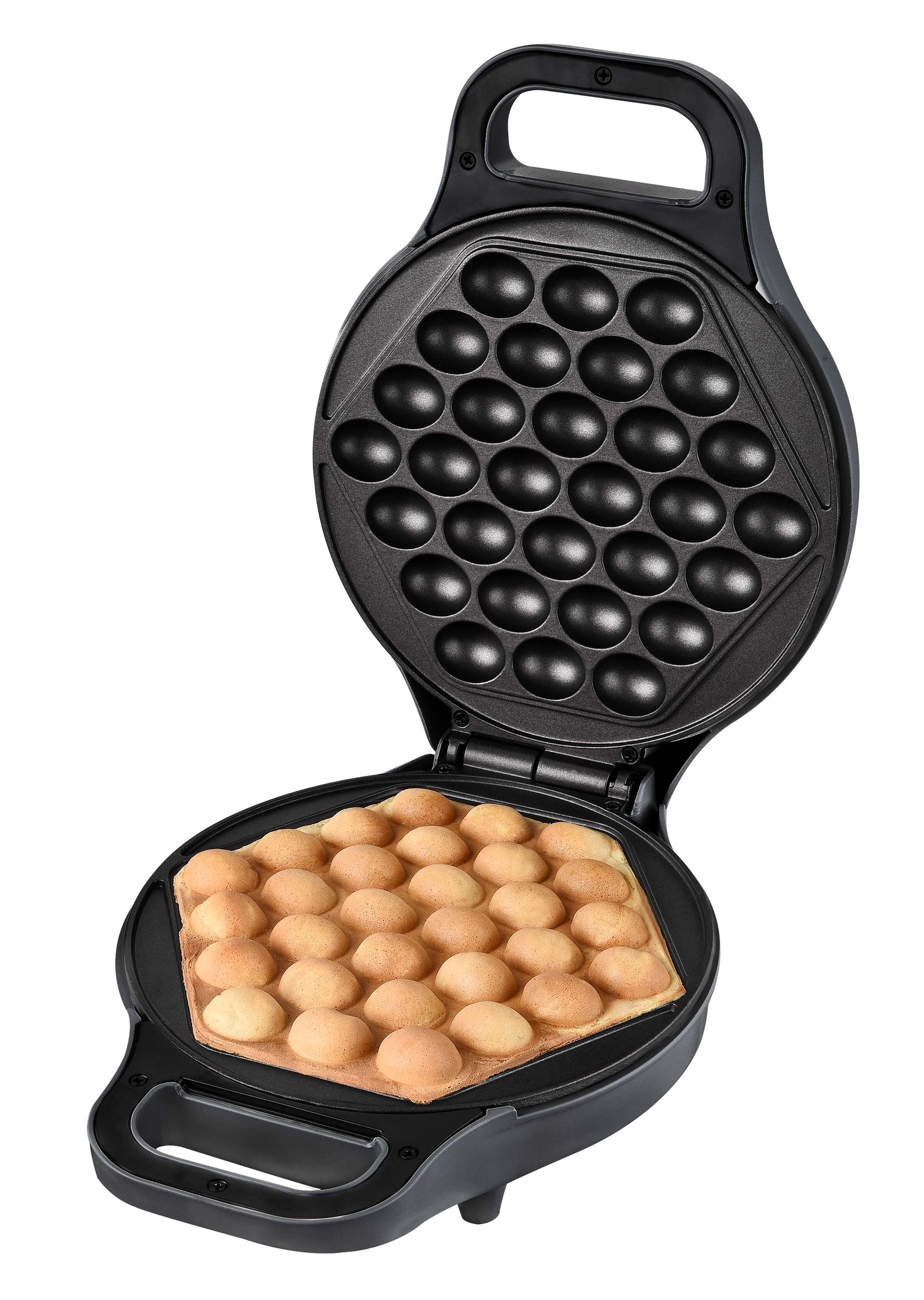 Kantonesischer Eierwaffelbäcker EggPuffs Bubbelwaffeln Waffeleisen*79392