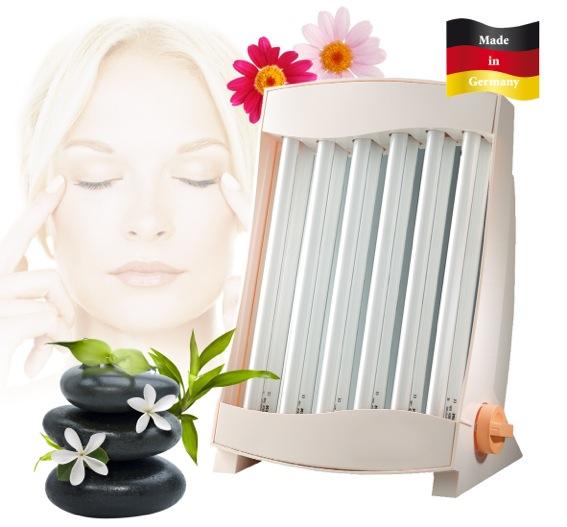 Gesichts Bräuner Gesichts Solarium 6Röhren GB836N NEU MADE IN GERMANY*17139