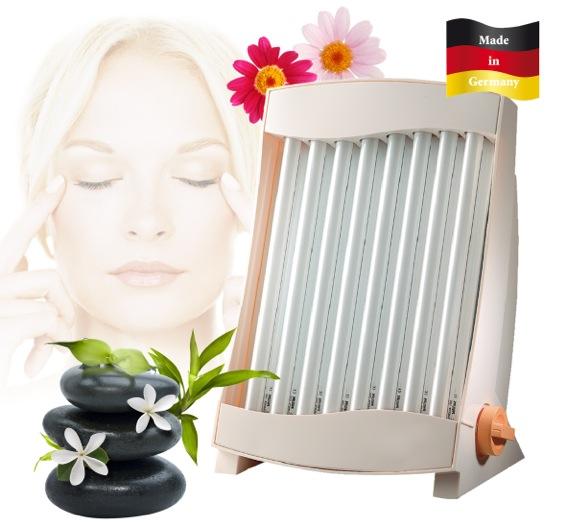 Wellness-Gesichtssolarium 8 Röhren MADE IN GERMANY SC GB 838 N*17146