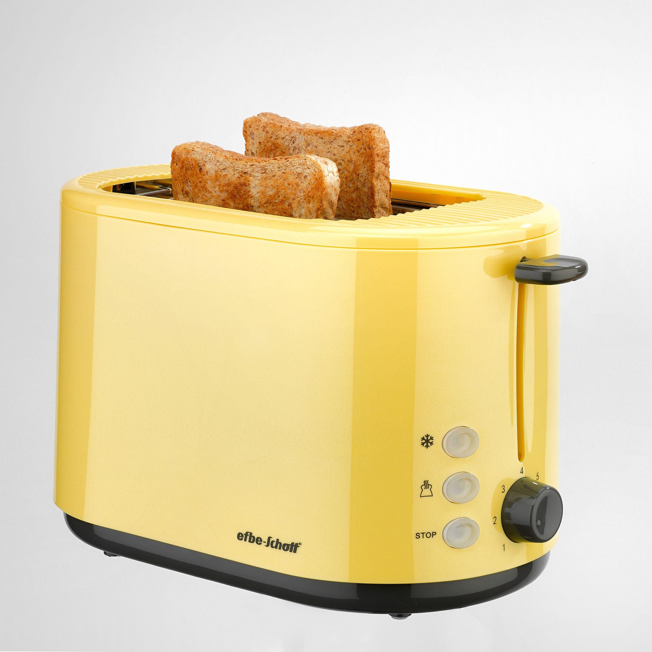 2-Scheiben-Toaster SC TO 1080.1 GLB Sahara gelb (Karton beschädigt)*16224 002