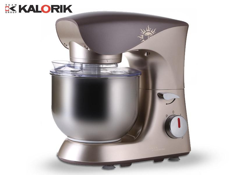 Universal Küchenmaschine Teigkneter 4,3L 800W  Edelstahlschüssel NEU*27437