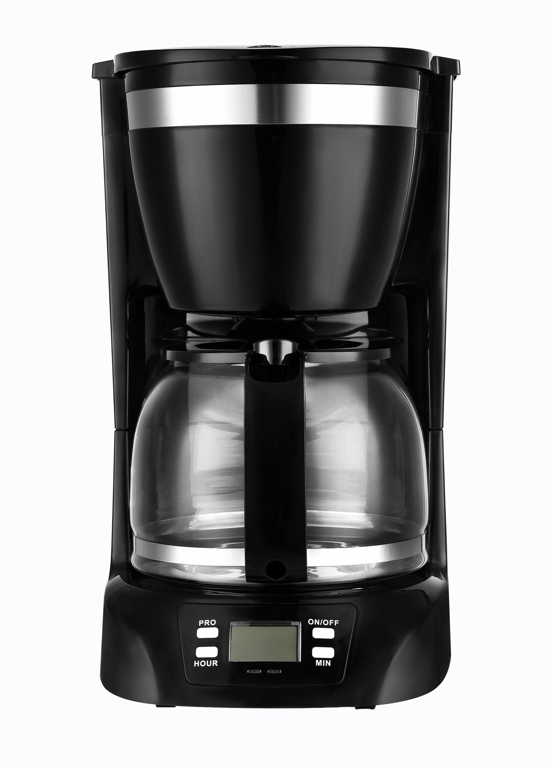Filter-Kaffeemaschine Timer programmierbar Display Glaskanne 1,25 L*45875
