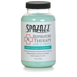 Spazazz 'Rx Therapy' Spa Crystals Respiratory Therapy-Relief