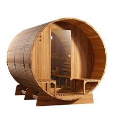 Fass Sauna Cedar Holz Clear 001