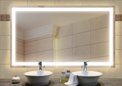 """Wandspiegel / Badezimmerspiegel """"Campos"""" 001"""