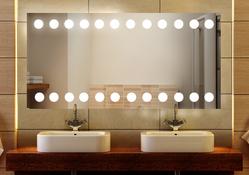 "Badezimmerspiegel ""Dots Classic"" 001"