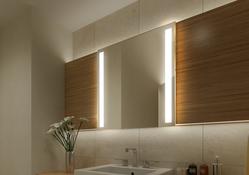 "Wandspiegel / Badspiegel ""Granada"" B 650mm x H 400mm 001"