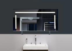"Spiegel Raumteiler LED ""CAPRI"" 002"