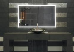 "Badspiegel nach maß ""Guzzi"" LED beleuchtet 002"