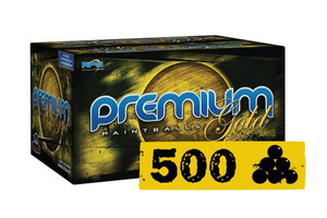 500 Paintballs RPS Premium Gold Player.68 Cal