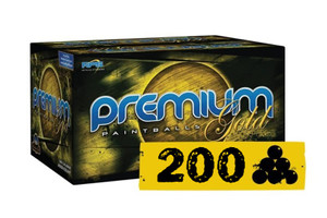 200 Paintballs RPS Premium Gold Player.68 Cal