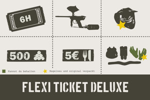 Onlinegutschein Flexi Ticket Deluxe