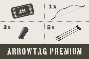 Arrow Tag Ticket Premium