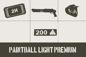 Paintball Light Ticket Premium