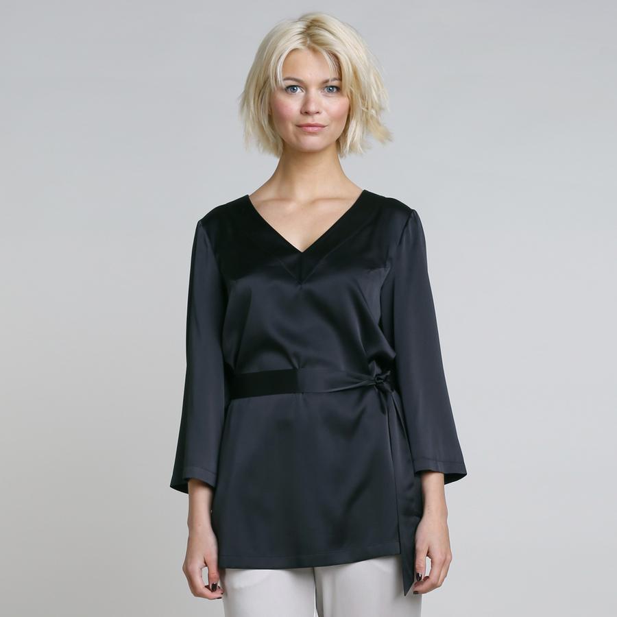 PREMIUM - Silk tunic Lisa – Bild 4