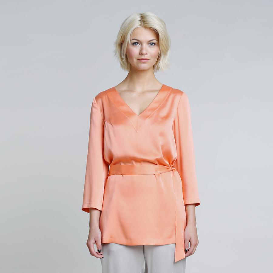 PREMIUM - Silk tunic Lisa – Bild 8