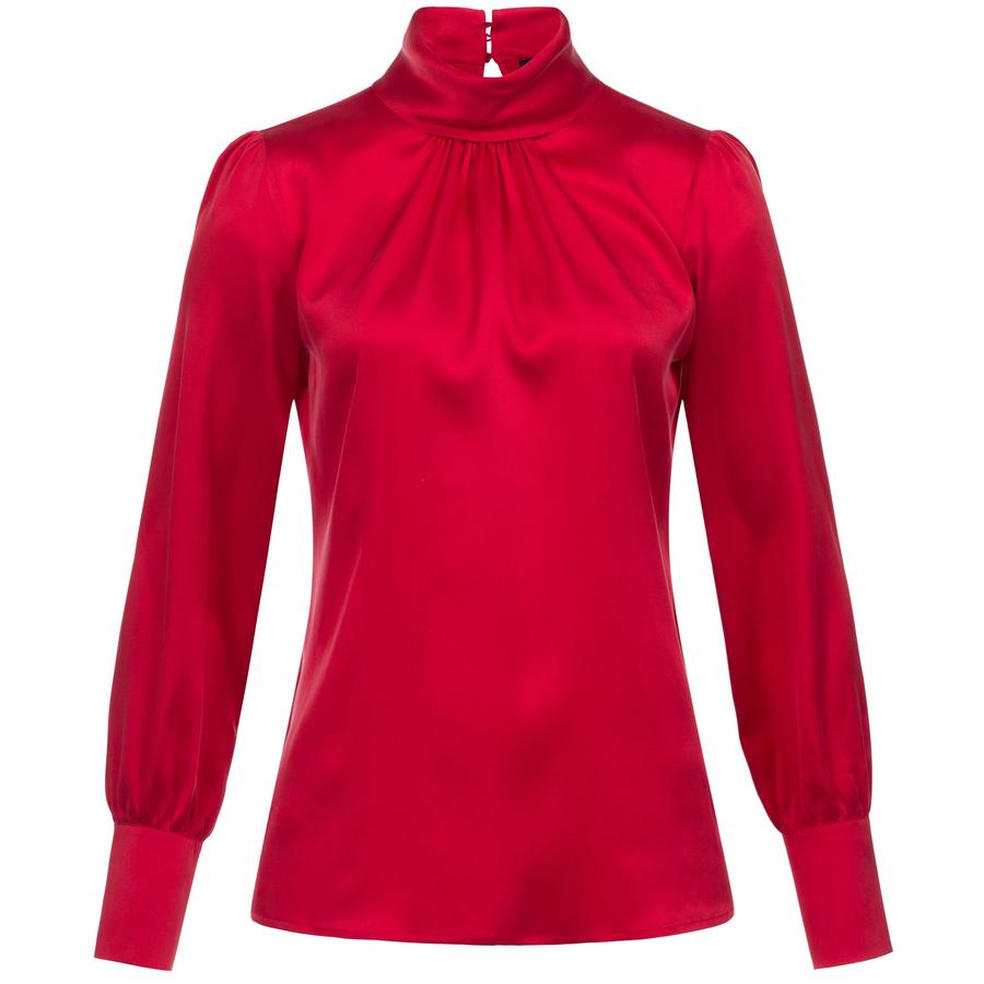 PREMIUM Silk Blouse Audrey – Bild 1