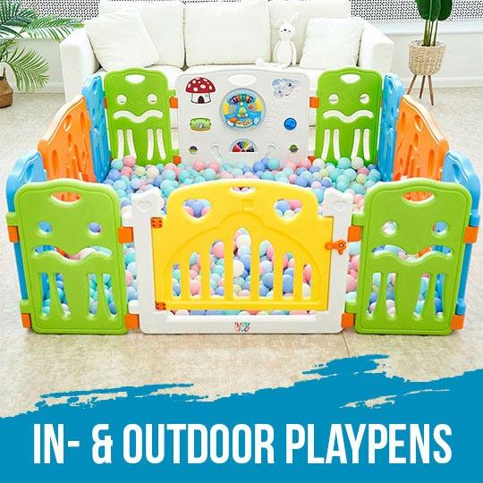 In- & Outdoor Playpens