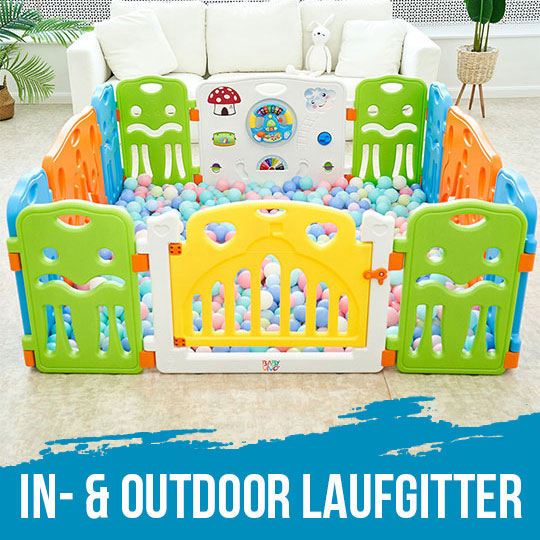 Baby Vivo In- & Outdoor Laufgitter