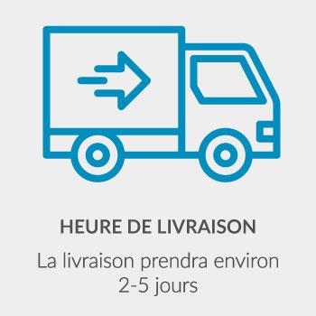 HEURE DE LIVRAISON