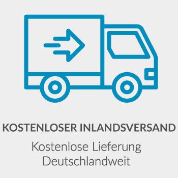 Kostenlose Lieferung Deutschlandweit