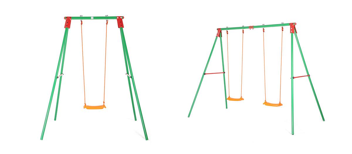 Baby Vivo Kinderschaukel / Schaukelgestell - Doppelschaukel