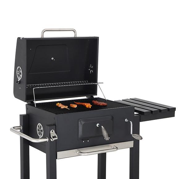 Strattore Holzkohlegrill / quadratischer BBQ