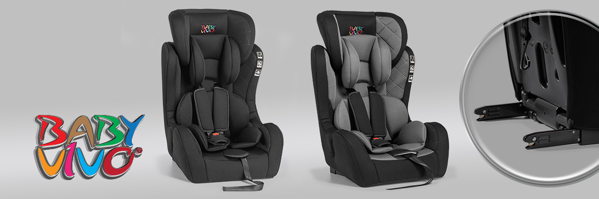 Attractive child seats with ISOFIX from Baby Vivo
