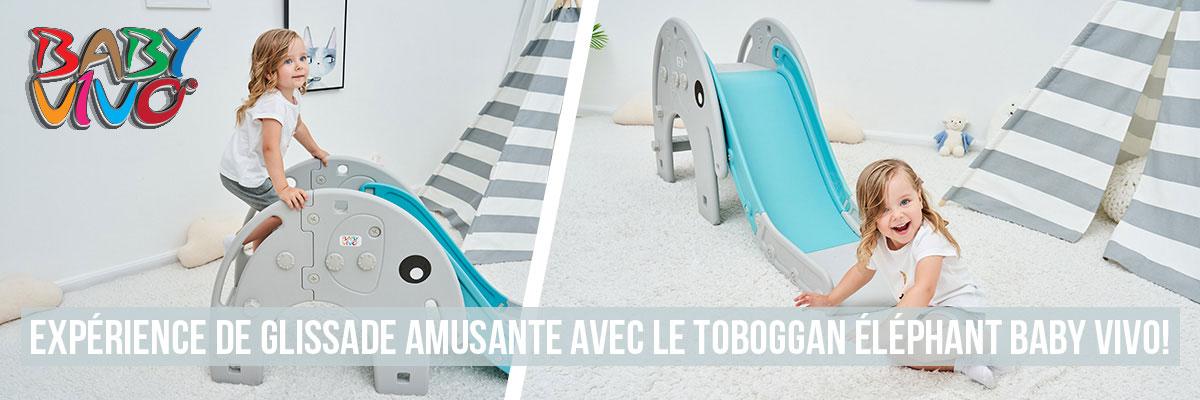 Toboggan pour enfants / Toboggan - Éléphant