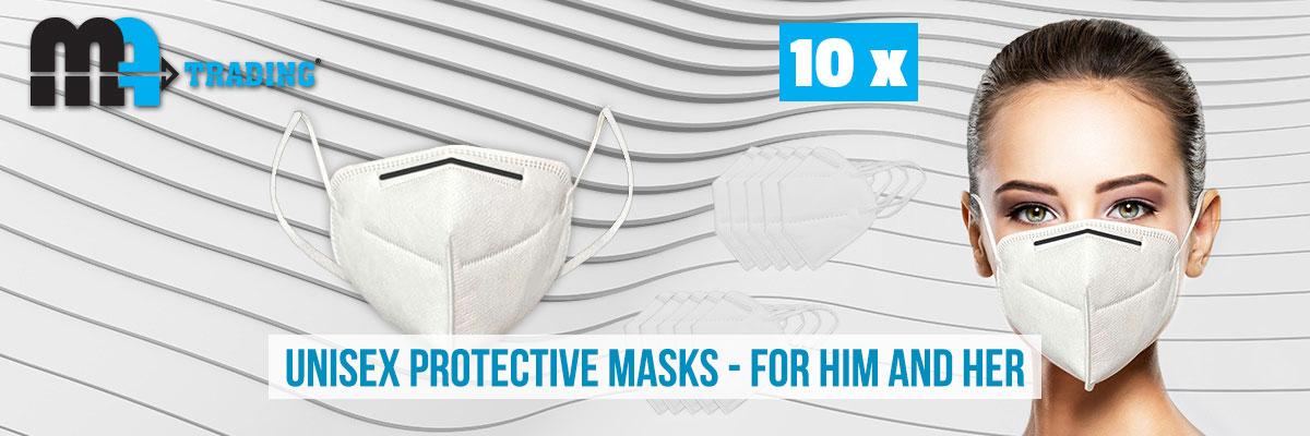 Unisex protective masks