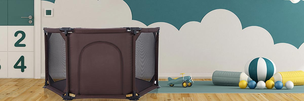 Baby Vivo Playpen Flexi – Safe and Practical
