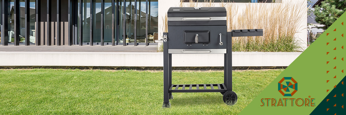 The summer can start with the Strattore barbecue grill