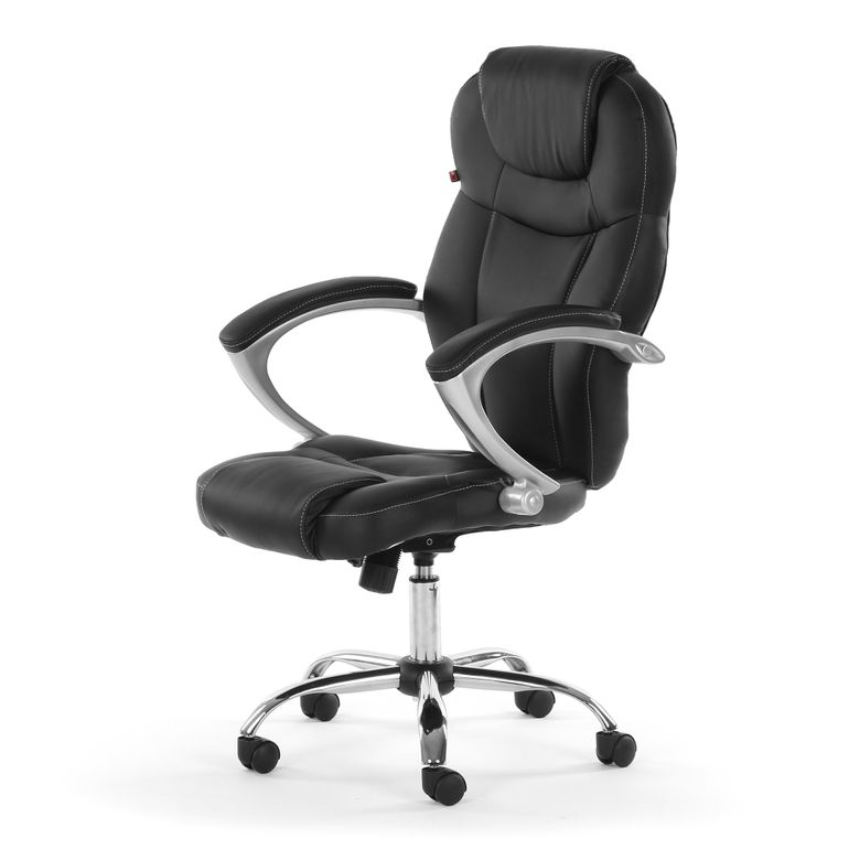 MY SIT Office Chair Rome Faux Leather in Black – Bild 3