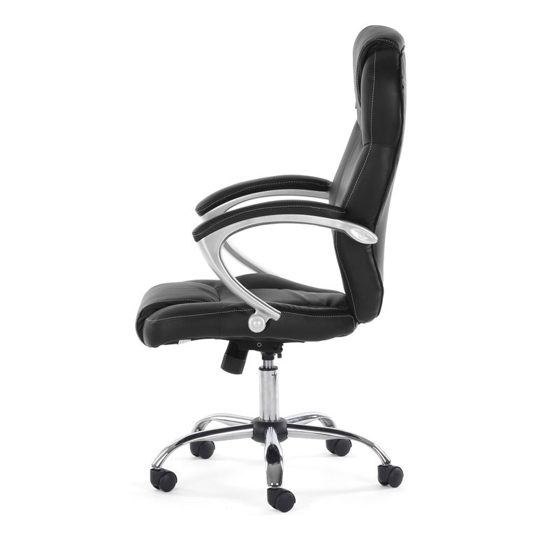 MY SIT Office Chair Rome Faux Leather in Black – Bild 4