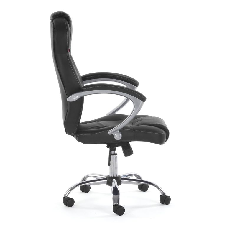 MY SIT Office Chair Rome Faux Leather in Black – Bild 8