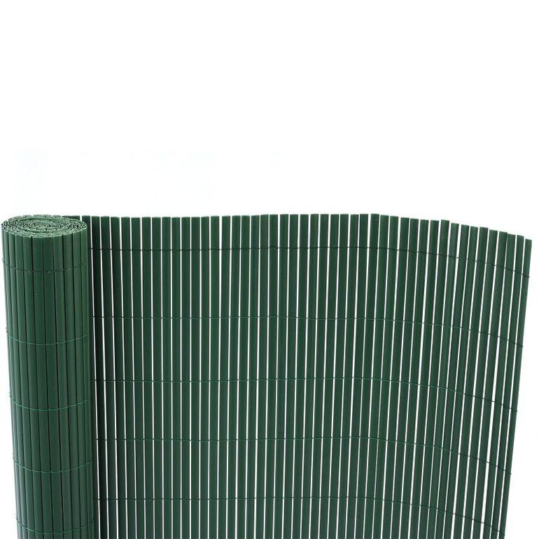 Sichtschutz / Windfang aus PVC Kunststoff 90 x 500 cm dunkelgrün – Bild 3