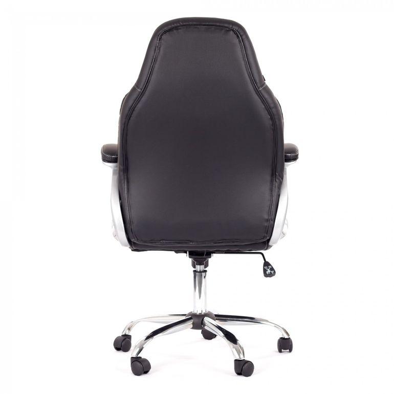 MY SIT Bürostuhl Chefsessel Venecia aus Kunstleder in Schwarz – Bild 6