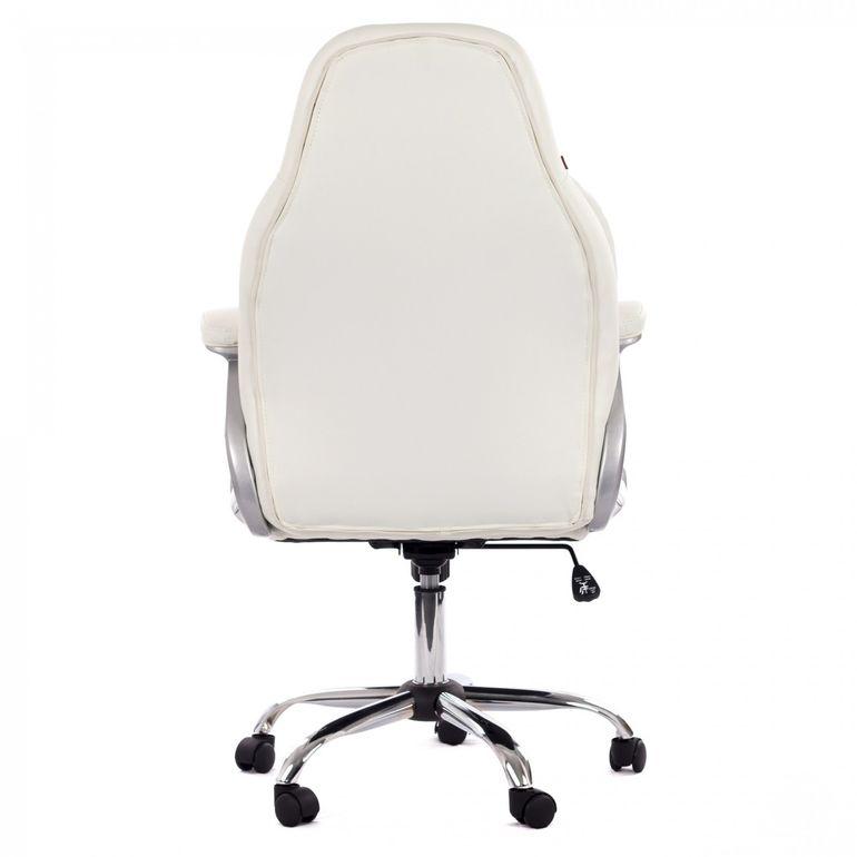 MY SIT Bürostuhl Chefsessel Venecia Deluxe aus Kunstleder in Weiß – Bild 6