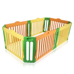 Baby Vivo Foldable Baby Child Playpen 4-Side Rectangle Main Package - Expandable - Model 2017