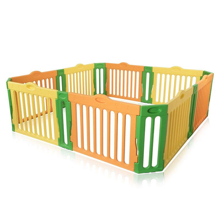 Baby Vivo Large Foldable Baby Child Playpen 4-Side Square - Expandable - Model 2017 – Bild 2