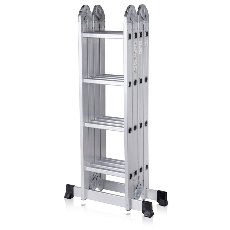 MAXCRAFT Multi-purpose Ladder / Scaffold Ladder - Length 4.75 m  – Bild 2
