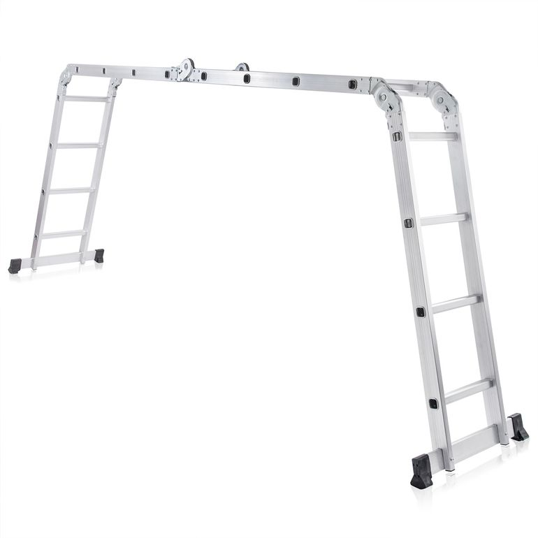 MAXCRAFT Multi-purpose Ladder / Scaffold Ladder - Length 4.75 m  – Bild 1