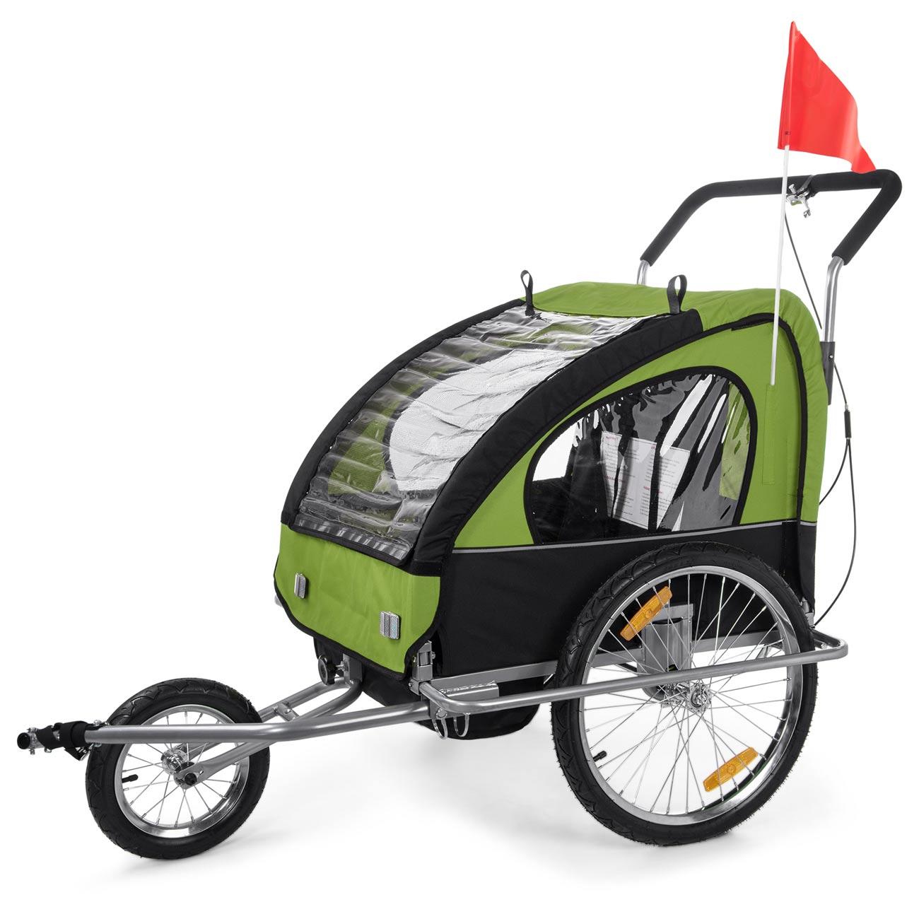 jogger fahrradanh nger 2in1 kinderanh nger fahrrad. Black Bedroom Furniture Sets. Home Design Ideas