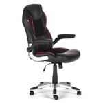 MY SIT Office Chair Indianapolis Faux Leather in Black  001