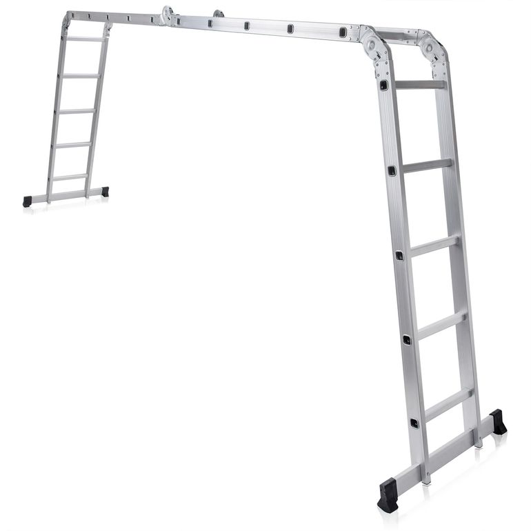 MAXCRAFT Multi-purpose Ladder / Scaffold Ladder - Length 5.92 m – Bild 1